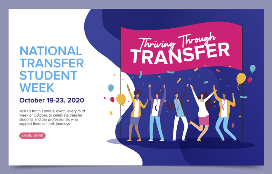 National Transfer Student Week Banner